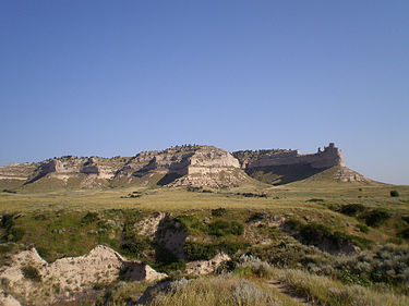 Scotts Bluff National Monument in western Nebraska Scotts bluff national monument.jpg