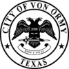 Official seal of Von Ormy, Texas