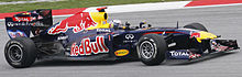 Photo de Sebastian Vettel sur Red Bull Racing au Grand Prix de Malaisie 2011