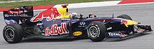 Photo de Sebastian Vettel sur Red Bull Racing au Grand Prix de Malaisie 2011