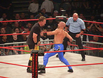 Shane Douglas - Douglas wrestling Daniels at Slammiversary for a new contract with TNA