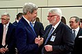 Secretary Kerry Shakes Hands With Polish Foreign Minister Wasczykowski at NATO Ministerial Session in Brussels (30653600843).jpg