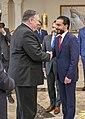Secretary Pompeo Meets Iraqi Speaker Muhammad Halbusi (45951989074).jpg