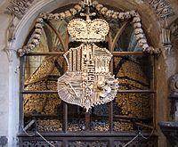 Sedlec Ossuary - the Schwarzenberg coat-of-arms.jpg