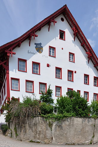 Feudalism in the Holy Roman Empire - The Lehenhof built in 1710 in Seegräben, Switzerland