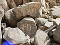 Sehel Inscribed Rock with Amenophis II Cartouche 2006.jpg