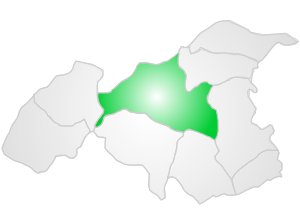 2012 Gaziantep bombing - Location of Şehitkamil in Gaziantep