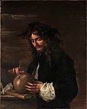 Self-Portrait, by Salvator Rosa, MET DP323414, edited.jpg
