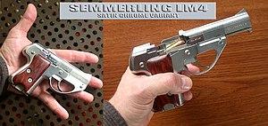 Semmerling LM4 - Semmerling LM4—satin chrome variant