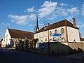 Senan-FR-89-mairie & église-01.jpg