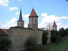 Stadtmauer von Seßlach