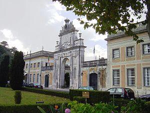 Seteais façade