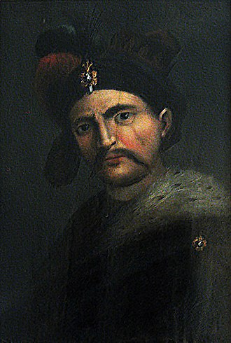 Abbas the Great - Portrait by an unnamed Italian painter