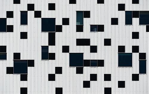 Sharp Centre for Design - fragment of facade, Toronto, Canada.