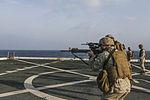 Sharpened Steel, 15th MEU Marines practice shooting 151031-M-GC438-004.jpg
