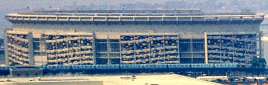 Shea Stadium exterior 1964