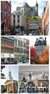 Sherbrooke City in Quebec, Canada