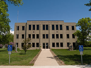 Sheridan County Courthouse (McClusky, North Dakota)