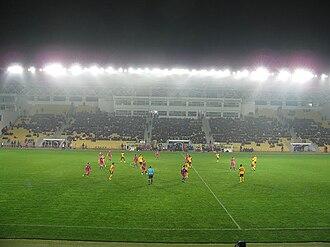 FC Sheriff Tiraspol - Sheriff Stadium during UEFA Europa League match
