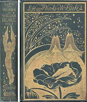 Frederic Shields - F Shields' design of the book by A Gilchrist, Life of William Blake. 1880