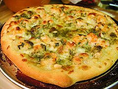 Shrimp pizza with pesto and pinenuts pdphoto.org.jpg