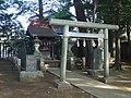 Shrine of the ancestorial Soul (祖霊社) in Soshigaya Shimmei Shrine (祖師谷神明社) - panoramio.jpg