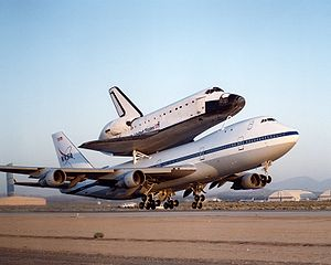 Shuttle Carrier Aircraft and Endeavour.jpg