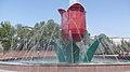 Shymkent Tullip fountain.jpg