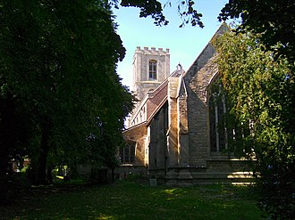 Sibsey - Image: Sibsey church east