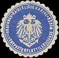 Siegelmarke K. Marine Kommando der Vorpostenflottille der Jade-Weser W0351866.jpg