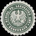 Siegelmarke K. Pr. Landraths-Amt Bad Kreuznach W0383933.jpg