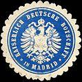 Siegelmarke Kaiserlich Deutsche Botschaft in Madrid W0221087.jpg