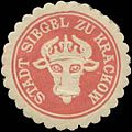 Siegelmarke Stadt Siegel zu Krackow W0345306.jpg
