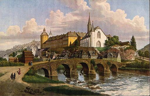 Siegen Siegbruecke 1850 Jacob Scheiner