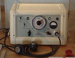 Siemens konvulsator III (ECT machine)