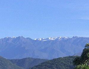 Panorama de la Sierra Nevada de Santa Marta