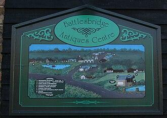Battlesbridge - Image: Sign battlesbridge