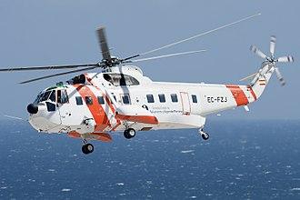 Sikorsky S-61 - A S-61N Mk.II operating for Sociedad de Salvamento y Seguridad Marítima in Spain