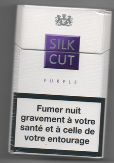 Silk Cut Cigarette brand