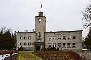 Sindi, Estonia - Image: Sindi raekoda