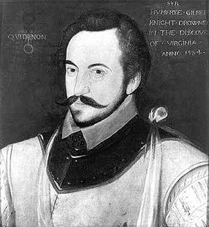 Simon Fernandes - Fernandes' patron, Sir Humphrey Gilbert, c. 1583