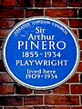 Sir Arthur PINERO 1855-1934 PLAYWRIGHT lived here 1909-1934.jpg