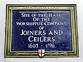 Site of the Hall of the Worshipful Company of Joiners and Ceilers 1603-1796.jpg