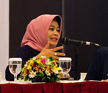 Siti Musdah Mulia at the International Conference on Feminism, 2016-09-23.jpg