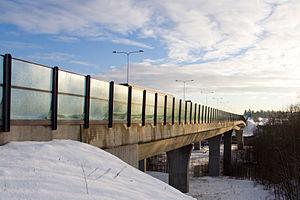 Skjeggestad Bridge - Image: Skjeggestadbrua fra sørvest 3 crop