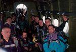 Skoczkowie w An-2 1998.jpg