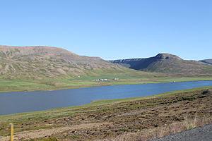 Skagafjörður (municipality) - Image: Sléttuhlíðarvatn