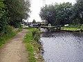 Slattocks Lock No 57, Rochdale Canal - geograph.org.uk - 857495.jpg