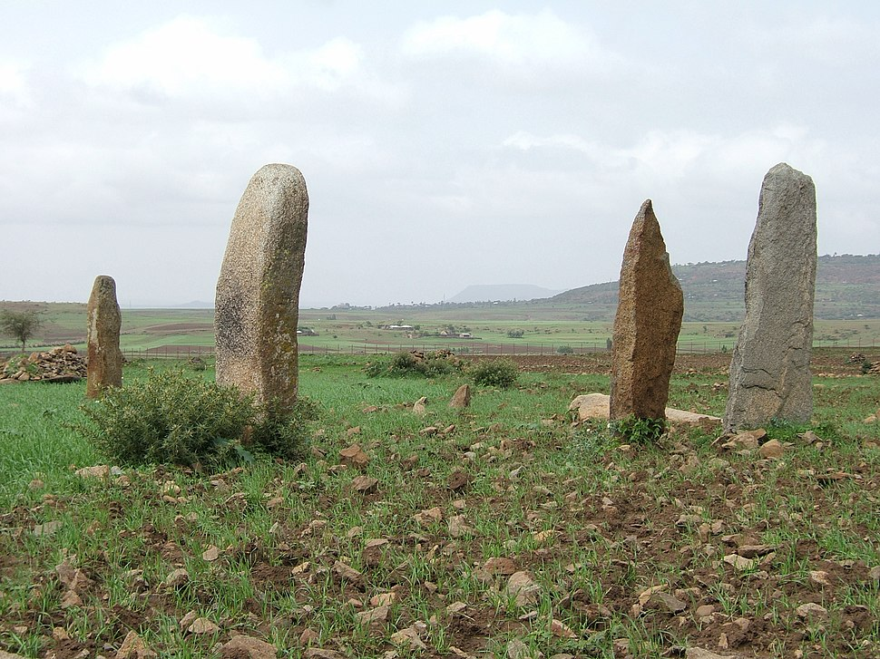 Small Steles near Aksum