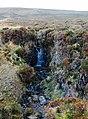 Small waterfall below Mid Hill - geograph.org.uk - 1185676.jpg